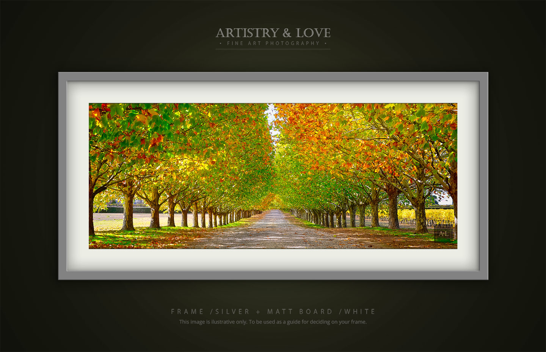 Riverina Autumn   Panorama, Fine Art, Wall Art   Artistry & Love